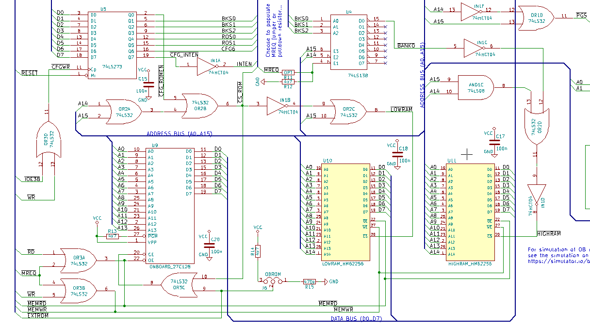 Homebrew Computers Defconblog 6502 Logic Diagram Troubles I Had Experienced So Far Decided To Test The Expansion Bus And Rom Cartridge Connections Before Fixing My Schematic Again